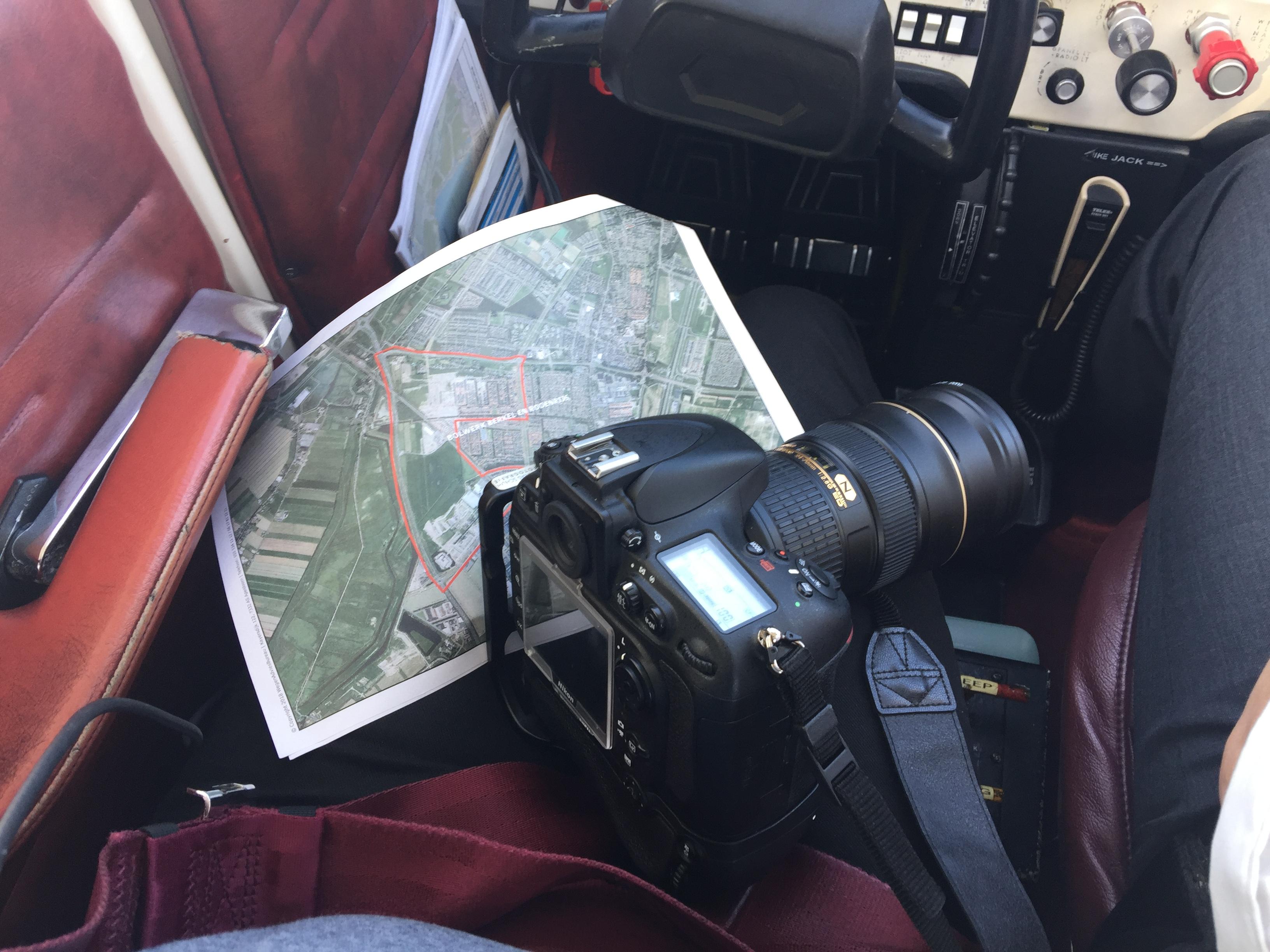 impressie maken luchtfoto's